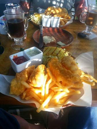 Plantation Grill: The food