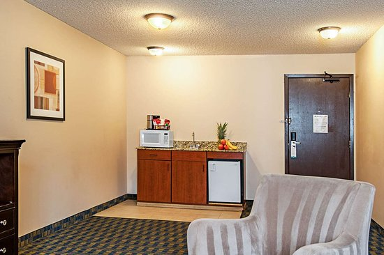 Pacific, Waszyngton: Spacious suite with added amenities