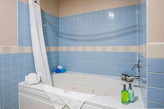 Pacific, Вашингтон: King suite with whirlpool bathtub