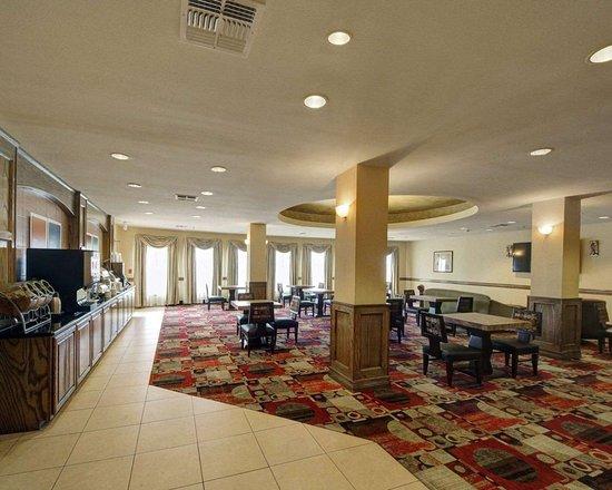 Donna, Teksas: Breakfast area in the lobby