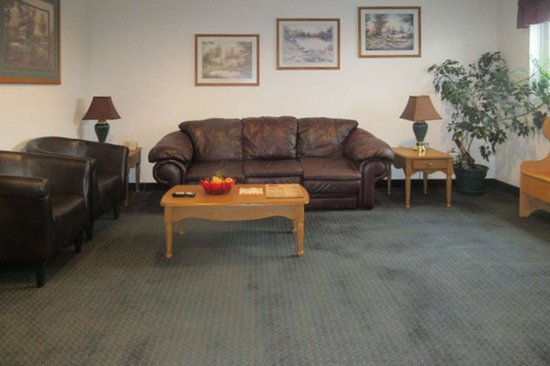 Stanley, WI: Hotel lobby