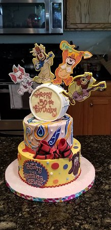 Englewood, CO: The amazing cake creation they made for my wife's birthday!