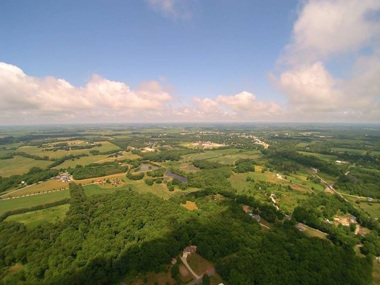 The wooded countryside around Walkerton, Indiana (photo By Joel Steven)