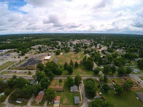 Over Place Park, Walkerton, Indiana (photo by Joel Steven)