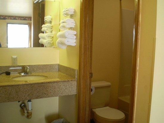 Nassawadox, فيرجينيا: Guest Room Bath