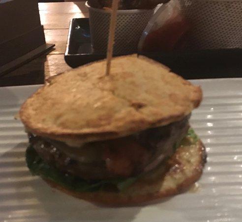 A low carb burger