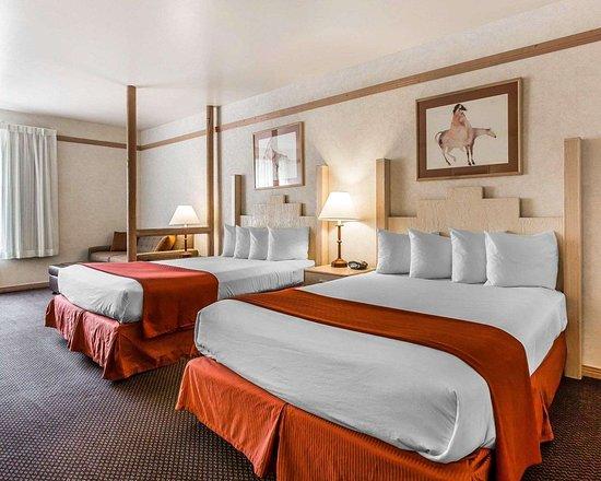 Quality Suites: Queen suite