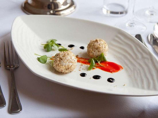 Ilam, UK: Izaak Walton Hotel food