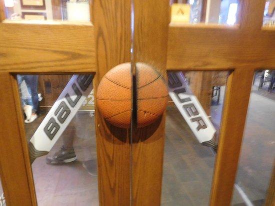 Carolina Ale House Basketball Door Handles Baseball Bat