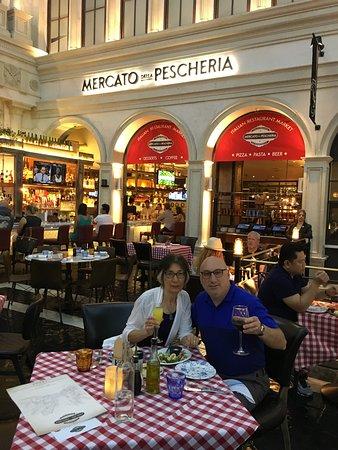 Mercato Della Pescheria : Farewell to Las Vegas dinner