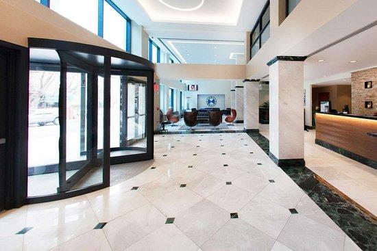 Kew Gardens, NY: Hotel lobby