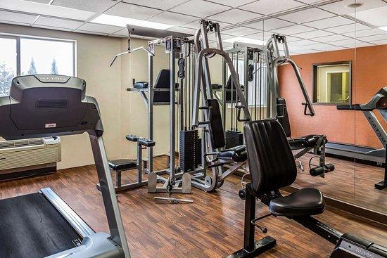 Comfort Suites Airport: Fitness center