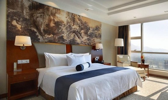 Ninghai County, China: Guest room
