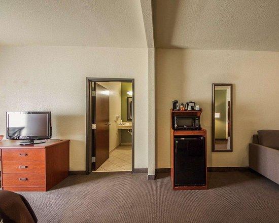Sleep Inn & Suites: Spacious suite with added amenities