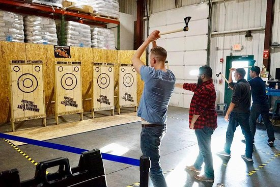 Stoughton, MA: Axe Throwing Brought to your Event