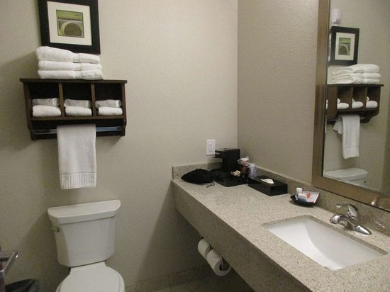 Denver City, TX: Guest Bathroom