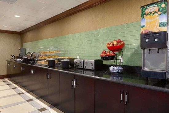 Rochelle Park, NJ : Breakfast Setup