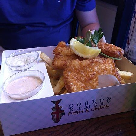 Gordon ramsay fish and chips las vegas for Gordon ramsay las vegas fish and chips