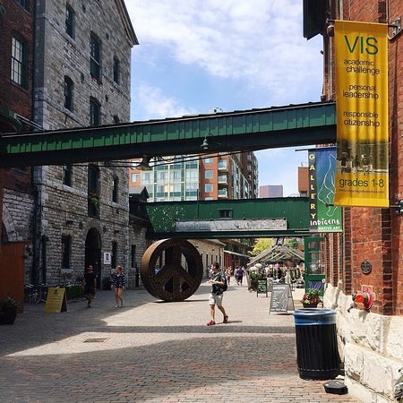 Distillery Historic District: Art, shopping, history, food all combine!