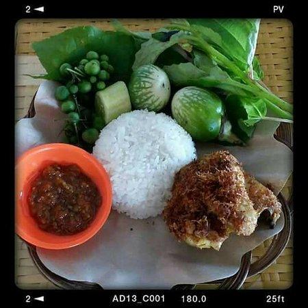Ciamis, Ινδονησία: Ayam Goreng seundeng