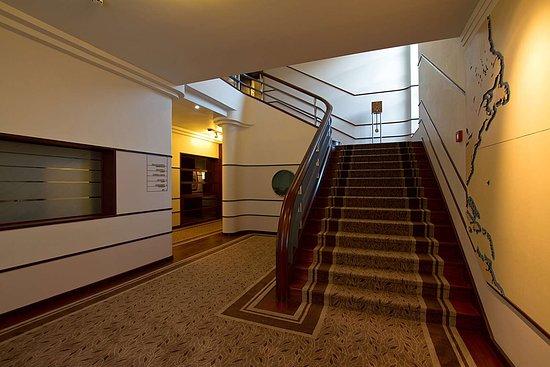 Staircase art deco picture of terra nostra garden hotel furnas