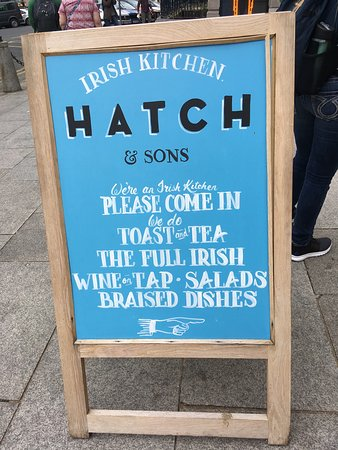 Hatch & Sons, Hugh Lane Gallery: Outdoor Sandwich Board