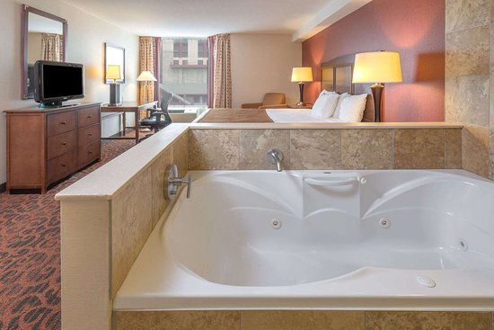 1 King Bed Hot Tub Suite Picture Of Ramada By Wyndham