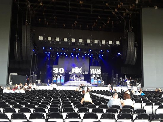 Inside Open Air Auditorium Before Concert Picture Of