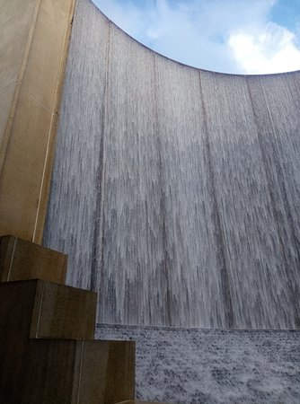 Front of Water Wall