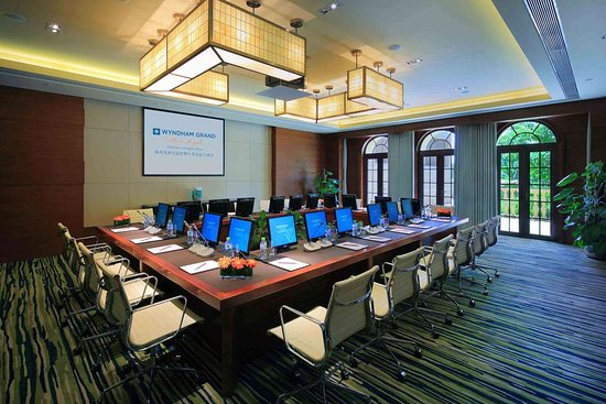 Ledong County, China: Boardroom