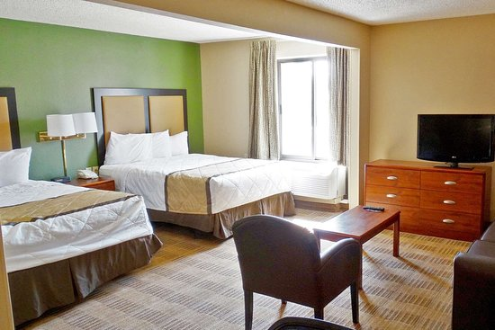 Extended Stay America - Evansville - East: Deluxe Studio - 2 Queen Beds
