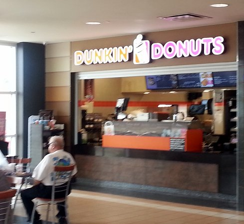 front of Dunkin' Donuts at the Lake Forest Oasis on the Tri-State Tollway (I-294)