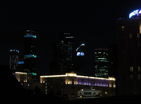 Illuminazione notturna picture of moscow city moscow tripadvisor