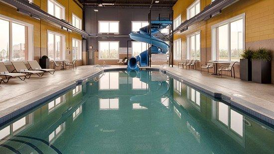 Best Western Plus Meridian Hotel Indoor Pool Waterslide