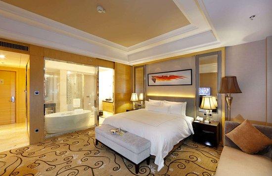 Zhangzhou, Chine: Guest Room