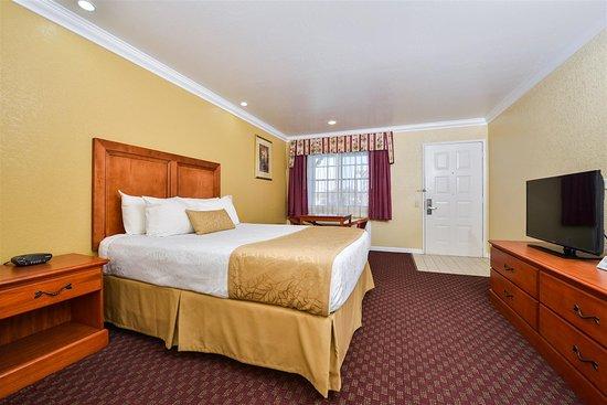 Best Western Hanford Inn: Queen Bed Guest Room