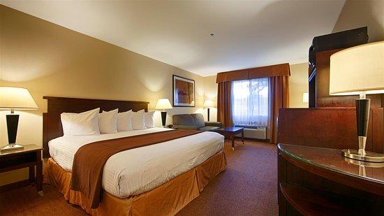 Porterville, Californien: King Guest Room