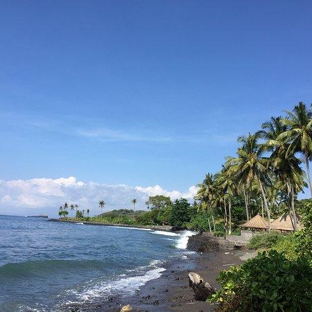 Subagan, Indonesië: Jasri Beach, the hidden beach in Karangasem Bali.