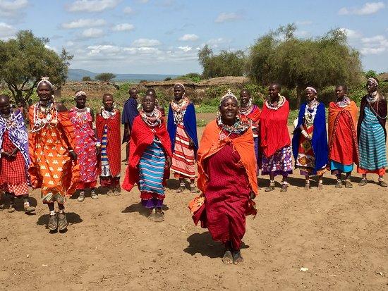 Elewana Tortilis Camp Amboseli: maasai