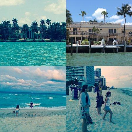 Deauville Beach Resort: Het strand voor het hotel en uitzicht tijdens een rondvaart niet van ons hotel