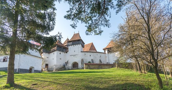 Tirgu Mures, Rumania: Fortified Saxon Church of Viscri (profile picture)
