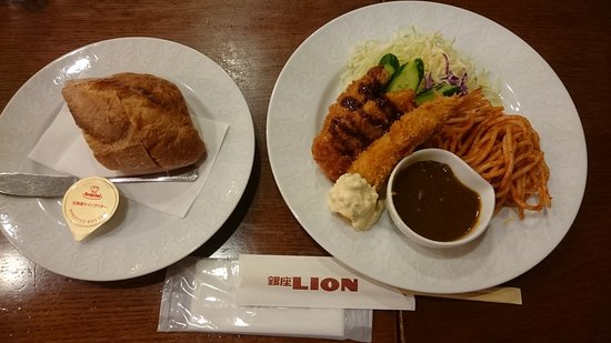 Beer Hall Ginza Lion, Ikebukuro West Entrance: 平日限定日替わりスペシャルランチ(木曜日)