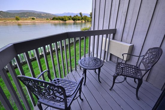 Bonners Ferry, ID: Guest Room Balcony & View