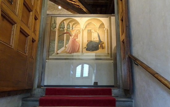 Museo di San Marco: 階段の踊り場からの受胎告知