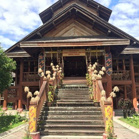 Tenom, Malaysia: The cultural centre houses an interesting gallery which displays many artifacts such as jars, go