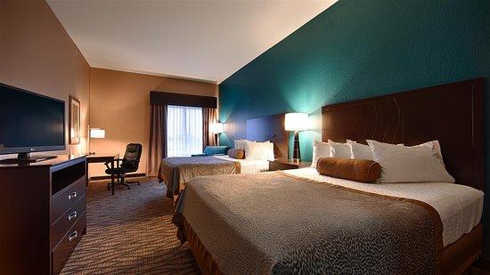 Hiawatha, Канзас: Double Queen Room