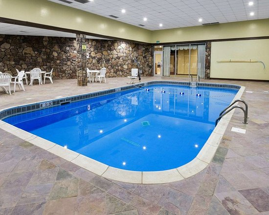 Comfort Inn Grantsville-Deep Creek Lake: Indoor pool