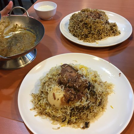 Delicious Pakistani briyani - hearty but not overly rich!