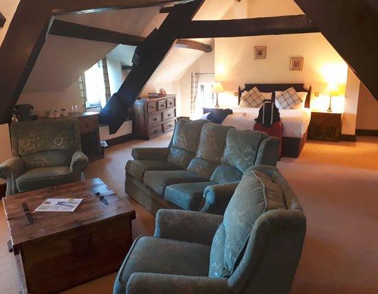 Llangybi, UK: Catherine Parr suite