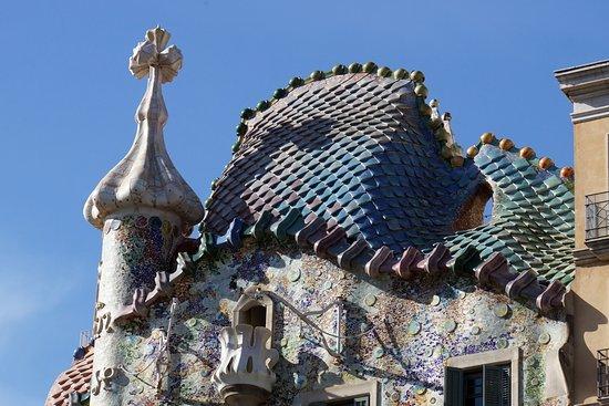 カサバトリョの屋根